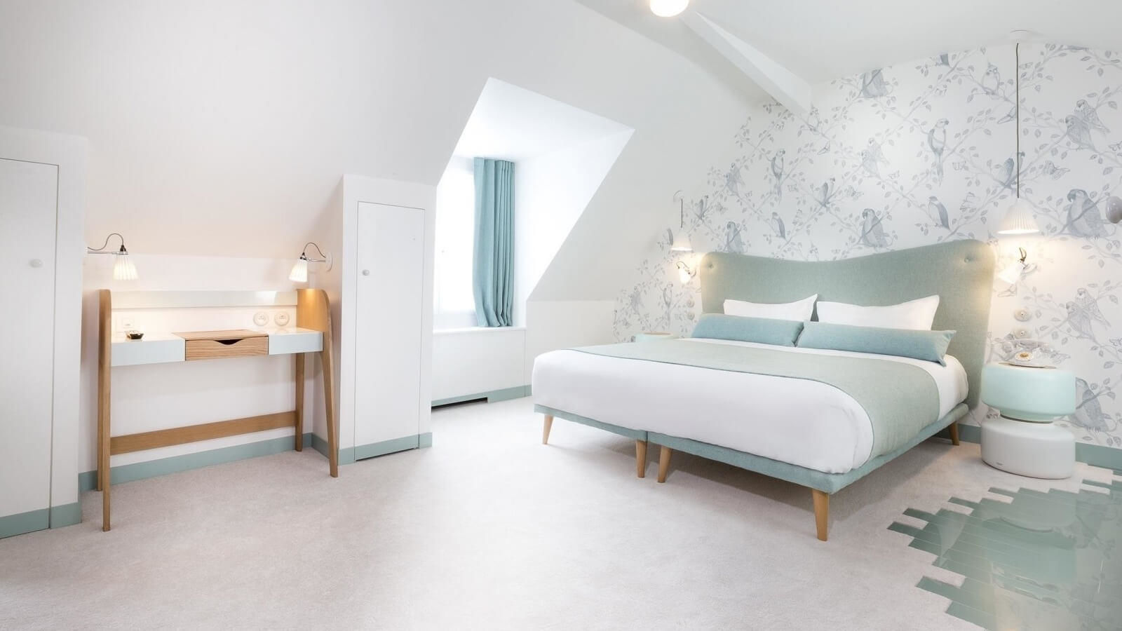 Hotel Le Lapin Blanc - Room